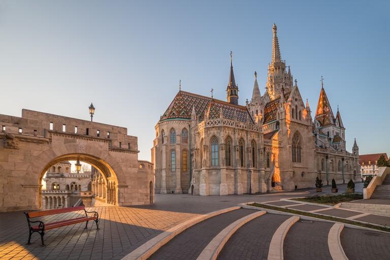 Matthias Church and Fisherman's Bastion, Budapest, Hungary