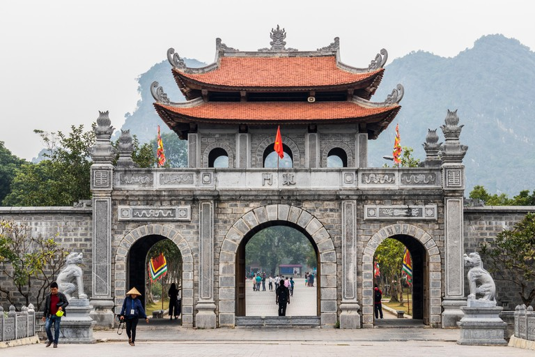 Hoa Lu ancient capital of Vietnam