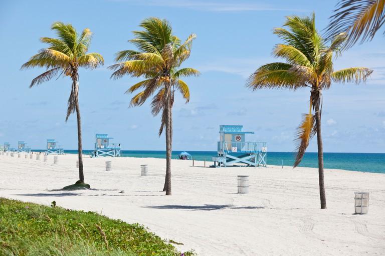 Haulover Beach, Miami, Florida, USA.