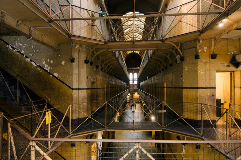 Old Melbourne Gaol interior, As of 2010, the gaol is recognized as Victoria's oldest surviving penal establishment, and attracts approximately 140,000