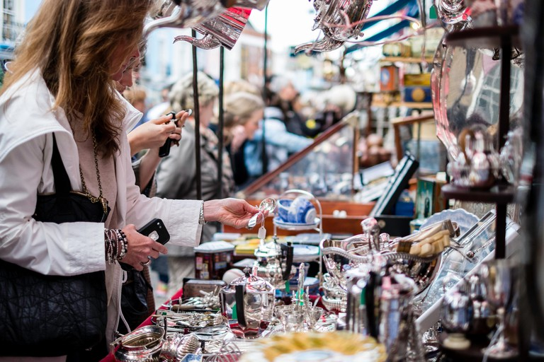 Portobello Road Market, London, United Kingdom