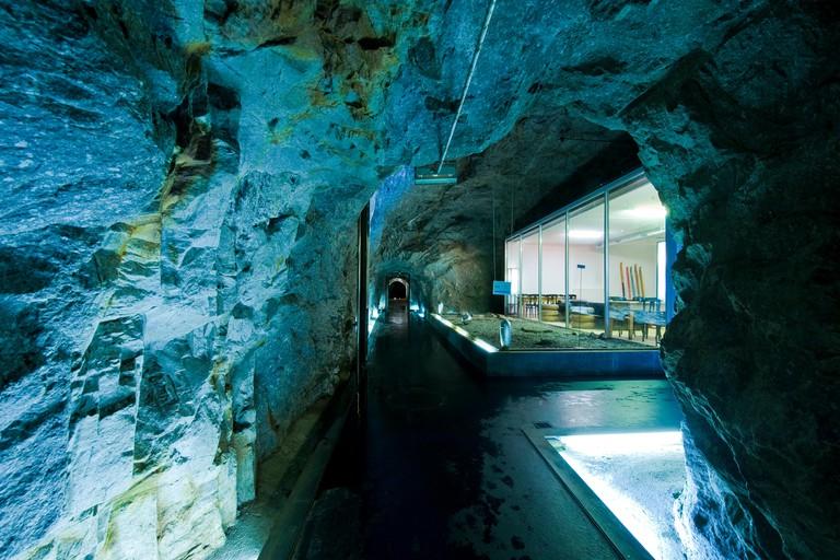 Switzerland,Gotthard pass,La Claustra hotel