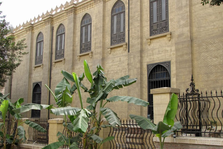 Ben Ezra Synagogue in Cairo, Egypt