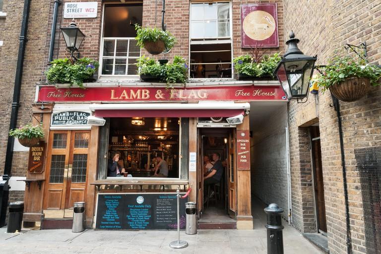 Lamb and Flag, London, England, UK