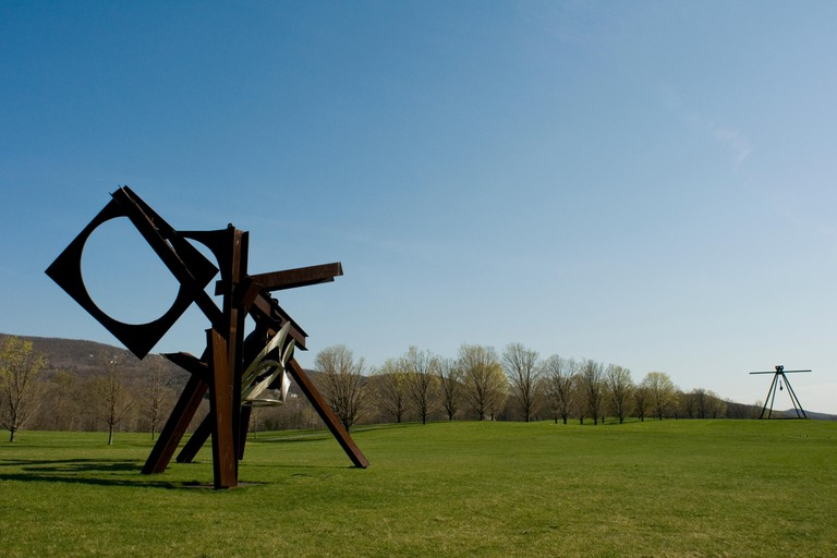 Storm King sculpture park, upstate, Cornwall New York