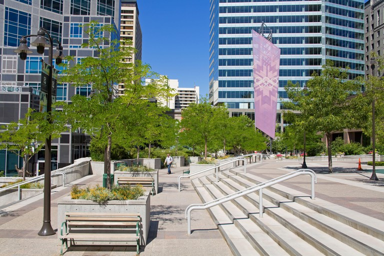 Gallivan Utah Center, Salt Lake City, Utah, USA, North America