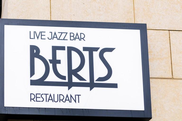 Berts Jazz Bar and Restaurant, part of the Merchant Hotel, Belfast