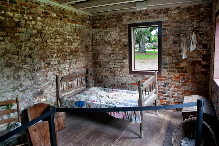 Boone Hall Plantation slave house