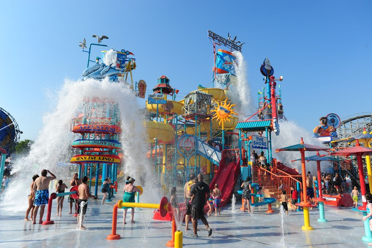 USA Hershey PA Pennsylvania Hershey Park waterpark East Coast Waterworks - summertime cool off from the heat