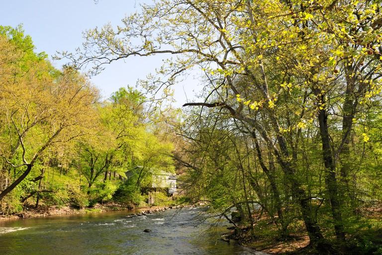 Brandywine River, Delaware, near the Hagley Museum