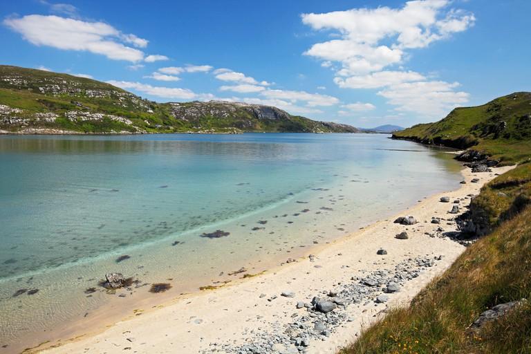 beach at the Crookhaven Bay on Mizen peninsula, County Cork, Ireland
