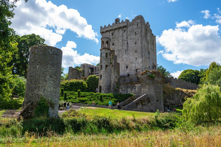 Blarney Castle and Gardens, near Cork in County Cork, Republic of Ireland