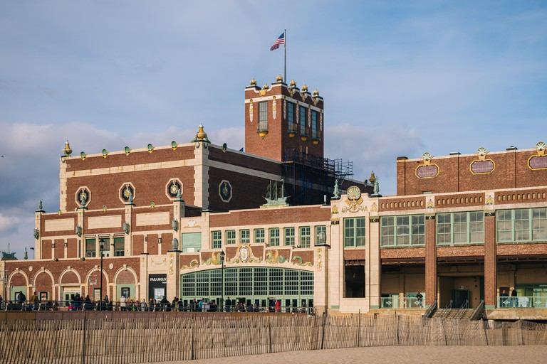 The Convention Hall in Asbury Park, New Jersey.