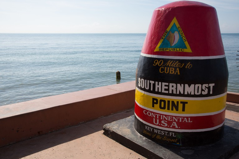 Southernmost point in the Continental USA, Key West, Florida