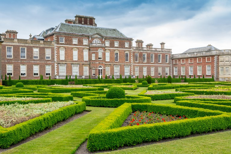 Wimpole Hall, a country house located in Wimpole Estate, Cambridgeshire, England owned by the National Trust