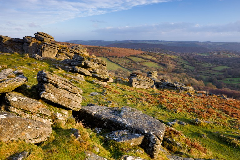 Hound Tor, Dartmoor National Park.