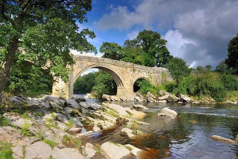 Devil's Bridge over the River Lune ,Kirkby Lonsdale , Cumbria.