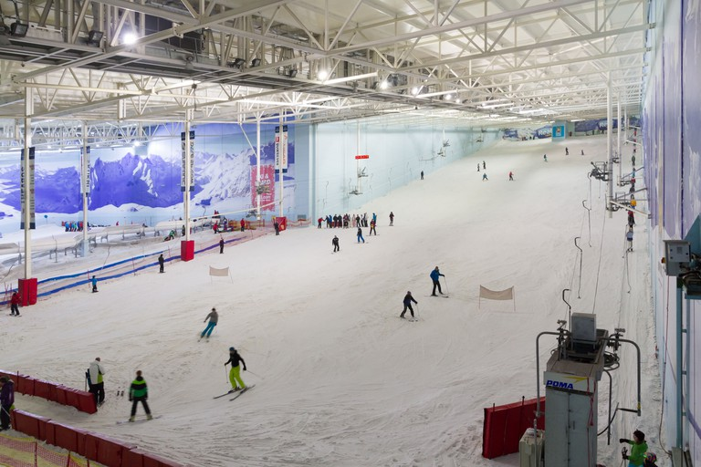 Chill Factor indoor ski centre in Manchester