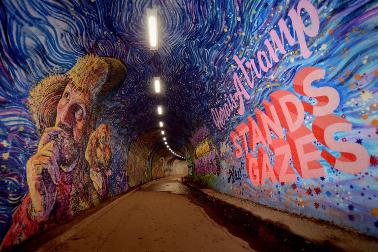 Colinton Tunnel Mural Project