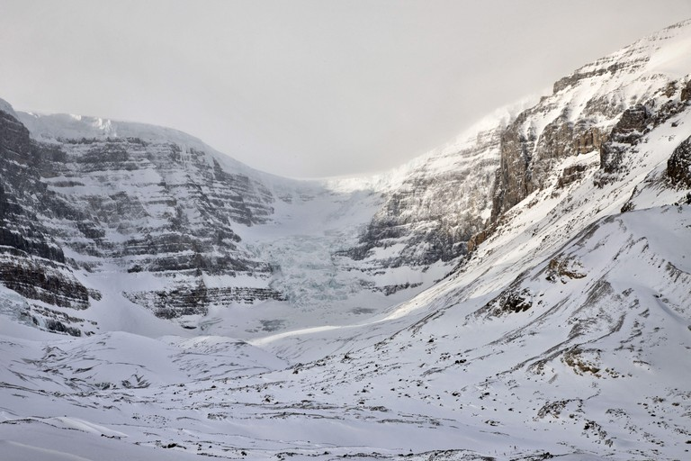 Columbia Icefields Alberta Rocky Mountains. Image shot 03/2016. Exact date unknown.