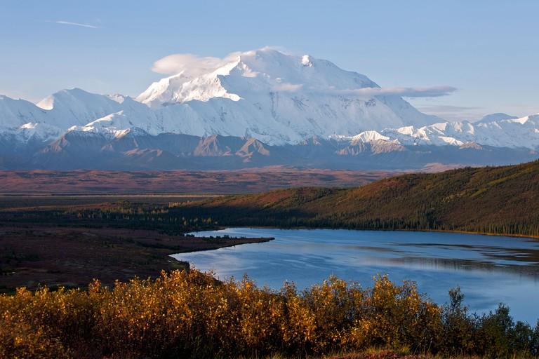 Mount McKinley.Denali National Park.Alaska.USA