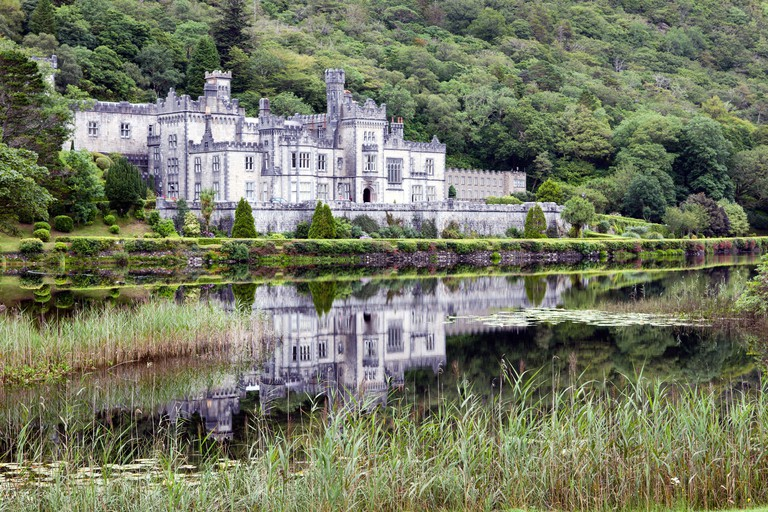 Kylemore Abbey in Connemara, Co. Galway, Ireland