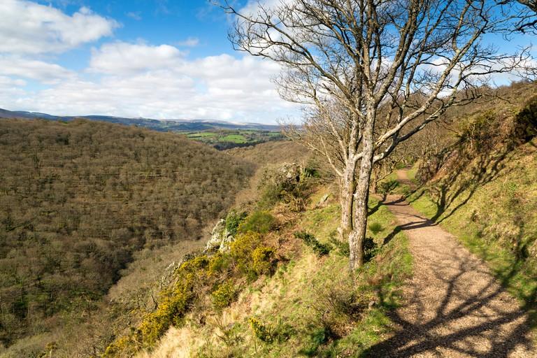 Castle Drogo, Teign Valley; Dartmoor, Devon.