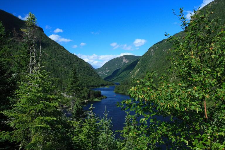 National Park, Hautes-Gorges-de -la-Riviere-Malbaie, Province of Quebec, Canada