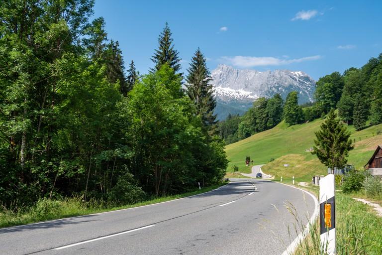 Road in Berchtesgadener