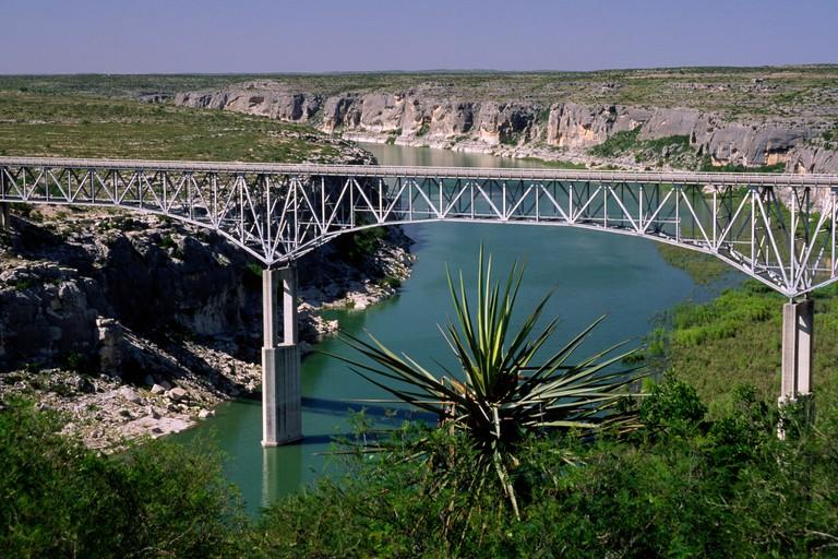 Pecos River High Bridge, Amistad National Recreation Area, Texas.