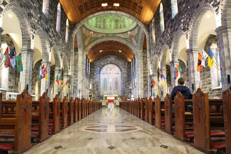 Galway Cathedral alter in Ireland