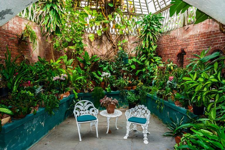 West Martello Tower (Key West Garden Club), Key West, Florida Keys, Florida USA