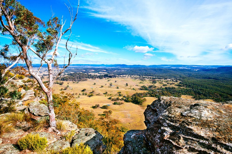 The Capertee Valley, northwest of Lithgow, is a large valley in New South Wales, Australia. It is 1km wider than the Grand Canyon in Arizona, USA.