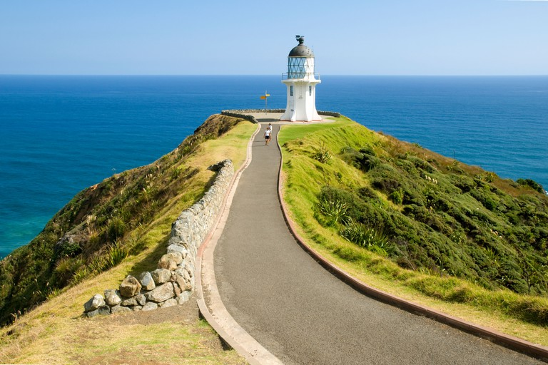 The lighthouse at Cape Reinga | © Vincent Lowe / Alamy Stock Photo