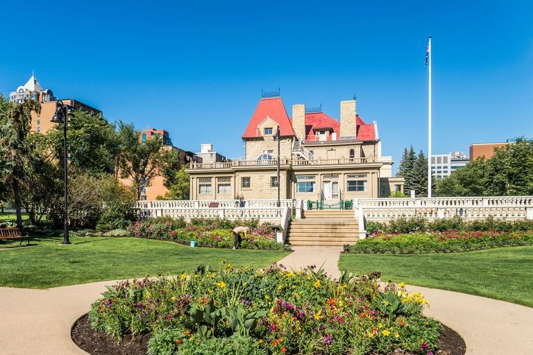 The Lougheed House, Calgary, Alberta, Canada