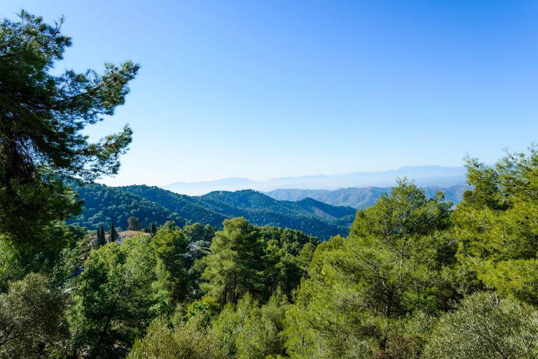 Natural Park of Montes de Malaga, Spain