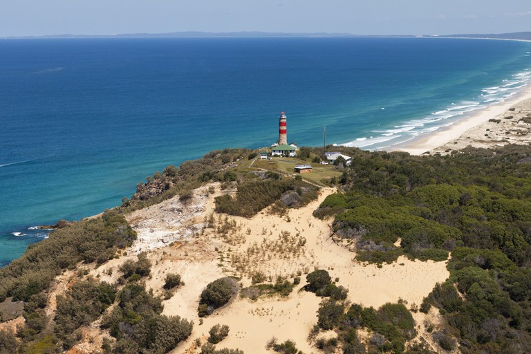 Cape Moreton Lighthouse, Moreton Island, Brisbane, Australia