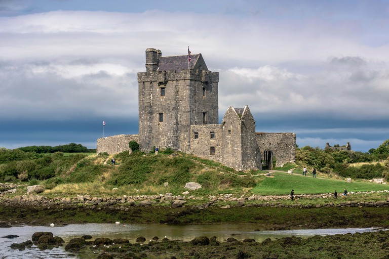 Dunguaire Castle in Kinvara, Ireland