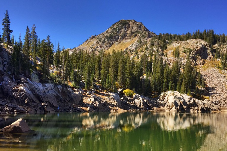 Lake Mary in the Wasatch National Forest of the Wasatch a Front, Utah.
