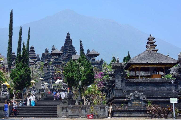 Pura Besakih temple Bali, Indonesia, Asia
