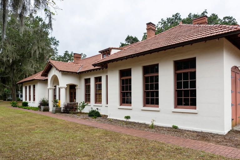 The York W. Bailey Museum at the Penn School Historic District, St Helena Island, South Carolina, USA