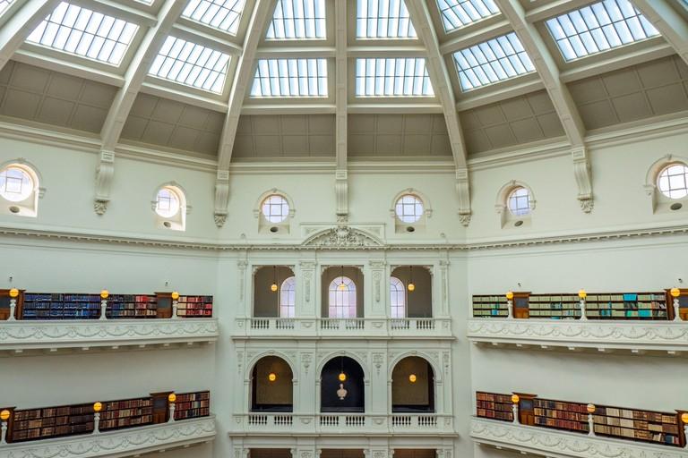 La Trobe Reading Room of the State Library Victoria Melbourne Australia.