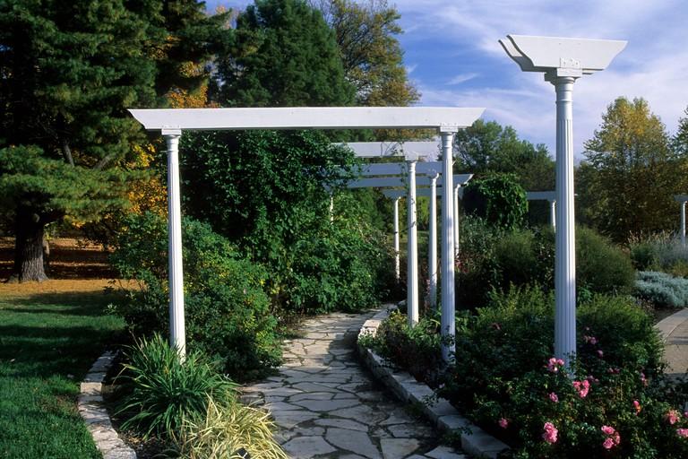 Washington Park Botanical Garden, Springfield, Illinois