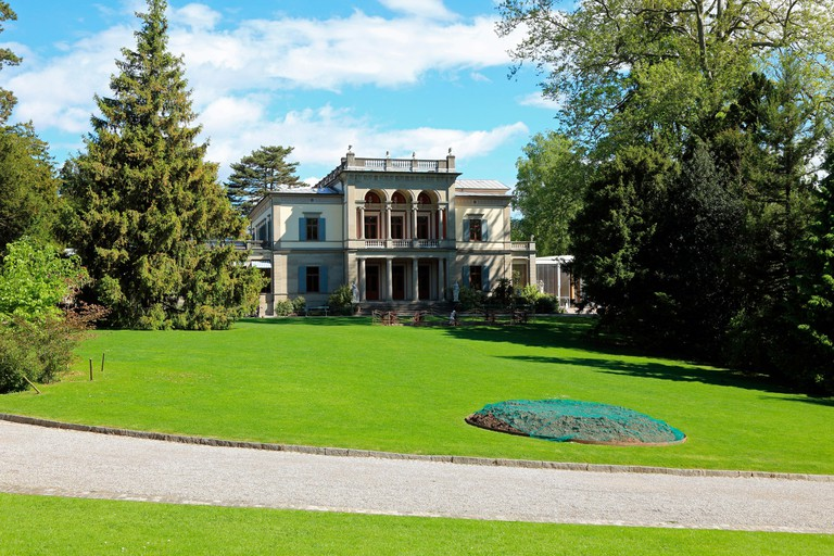 Switzerland, Zurich, Rieterpark, Villa Wesendonk