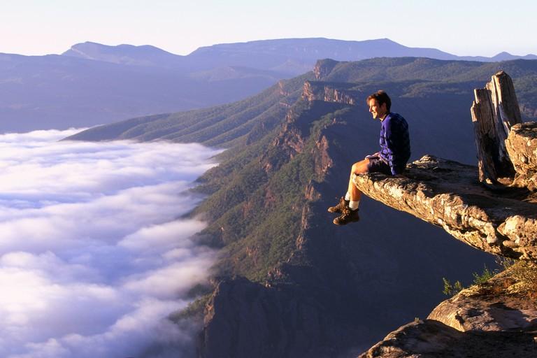Boroka Lookout Grampians National Park Western Mountains The Great Dividing Range Victoria Australia horizontal