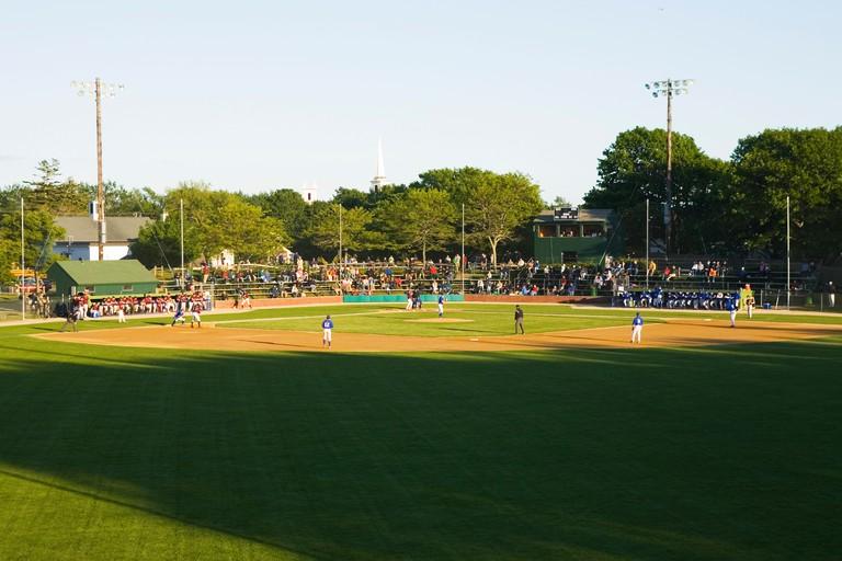Cape Cod Baseball League Game Chatham, MA