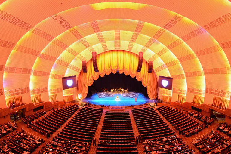 Radio City Music Hall in New York City.