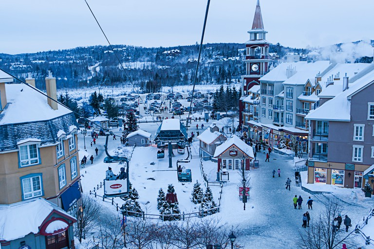 Winter in Mont Tremblant