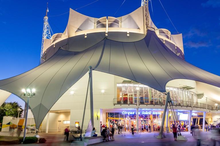 Cirque Du Soleil, Downtown Disney, Orlando, Florida, Usa