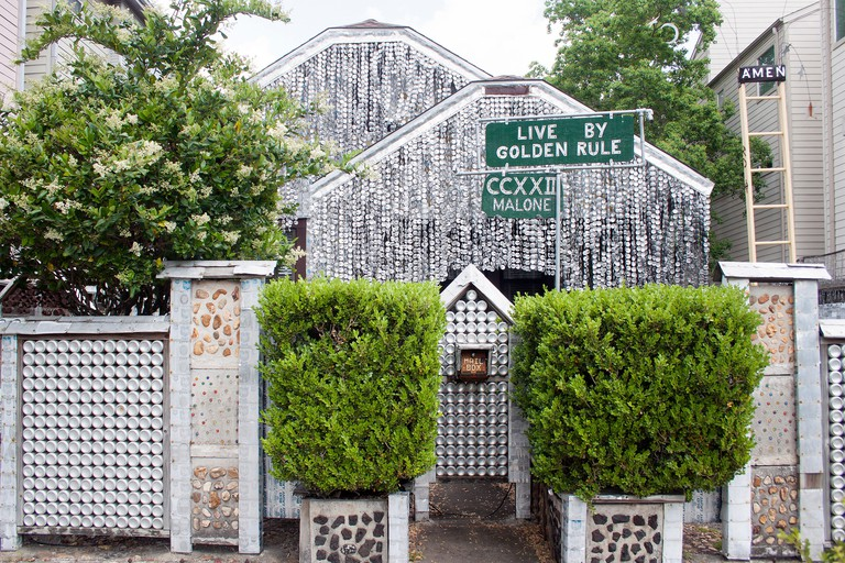 Beer Can House in Houston Texas